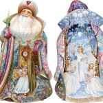 Stunningly beautiful Christmas decorations by 'DeBrekht Artistic Studio Russian Santas'