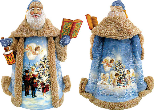 Unique Christmas decoration by 'DeBrekht Artistic Studio Russian Santas'