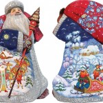 Folk crafts in Christmas decoration by Andrew and Vicka Gabriht