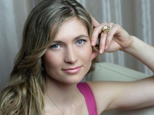 Belarusian biathlete Darya Domracheva