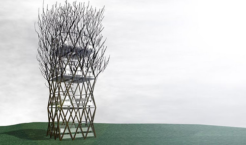 Vegitecture Terreform's Fab Tree Hab