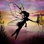 Fantasy silhouettes and Paintings by Liza Lambertini
