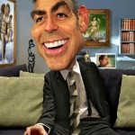 Caricatures by American artist Rodney Pike