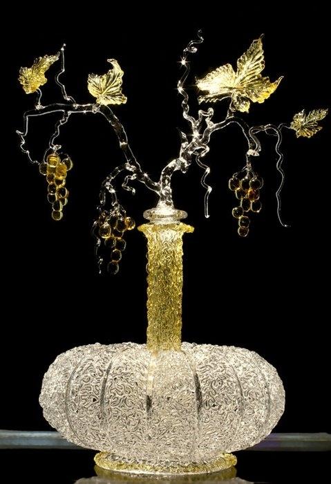 Glass Sculpture by Russian artist Alexei Zelya