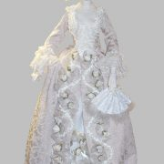 Gogeous doll in the Museum of Porcelain doll in Sherbinka, Moscow region