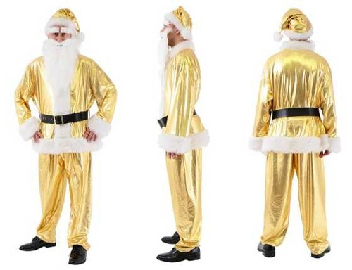Bizarre Christmas costumes image via Village Vanguard