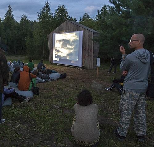 Nikola slothful Festival of land art