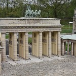 Entrance to the Park of Architectural Miniature models in Wuhlheide park, Berlin