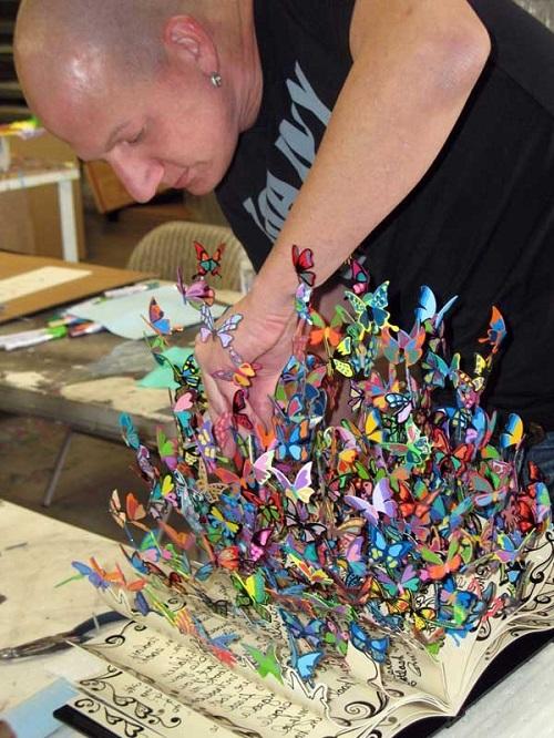 Talented artist David Kracov