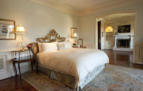 A bedroom. House of Michael Jackson, where he lived until his tragic death