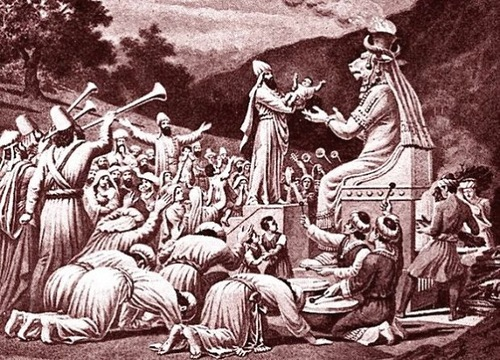 Moloch had associations with a particular kind of propitiatory child sacrifice by parents