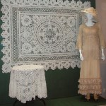 Exhibition in the Museum of lace, Vologda