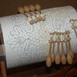 Traditional folk crafts in the Museum of lace, Vologda
