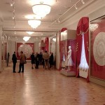 Inside the Museum of lace, Vologda