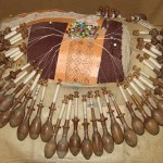 Tools for creating lace. Exhibition in the first Museum of lace in Vologda