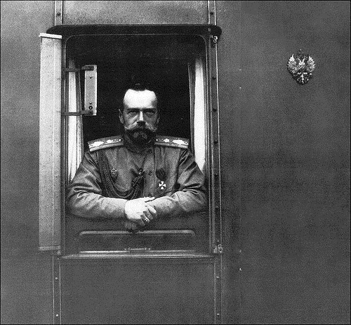 Russian Emperors train. Nicholas II