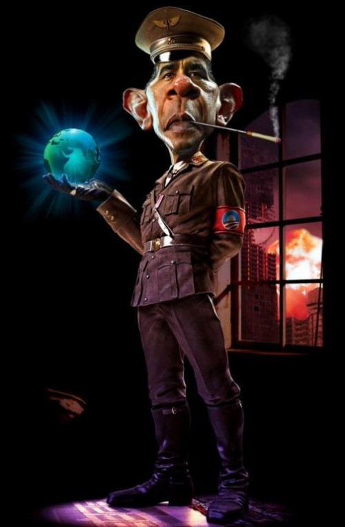 Obamunism. Caricatures by Rodney Pike