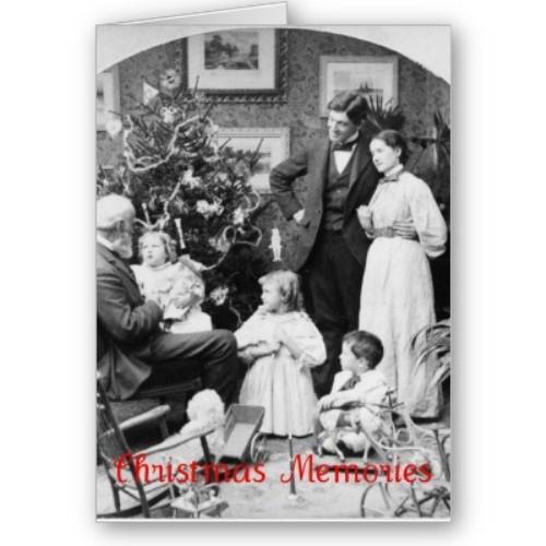 Retro photograph of Christmas