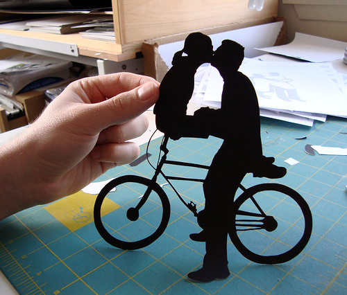 papercuts by American self-taught artist Joe Bagley