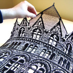 papercuts by American self-taught artist Joe Bagley