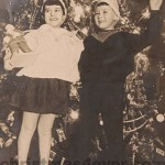 Retro photograph of Christmas