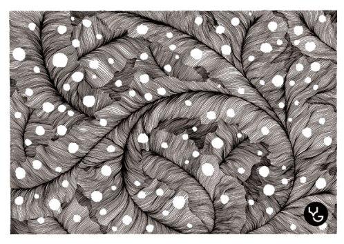 Rotring pen Drawing by Russian artist Vasily Godzh