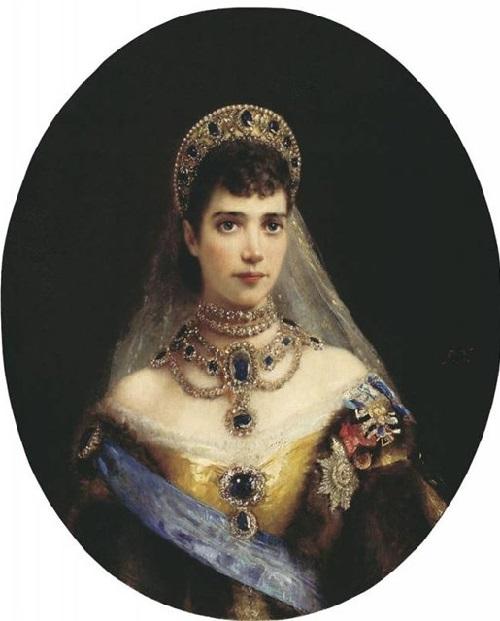 Russian Empress Alexandra Feodorovna