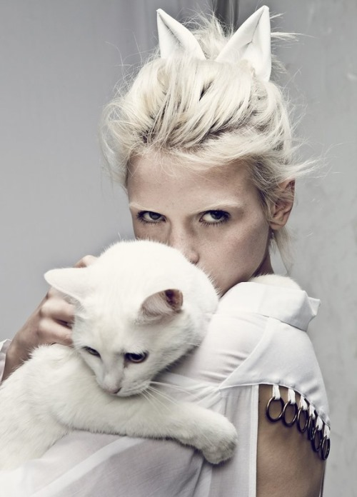 Beautiful Russian model Anna Konstantinova for style Stalker