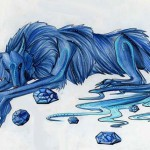 Bringing divine grace, happiness and peace, Sapphire