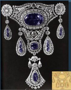 Royal Sapphires of Russian Empress Alexandra Feodorovna
