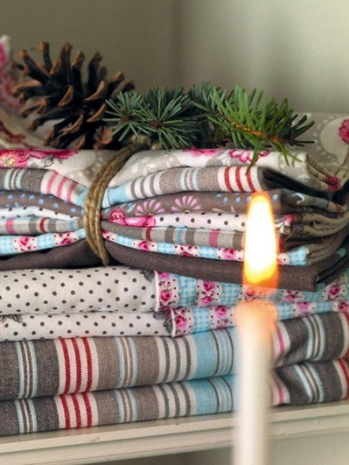 Home Textile Scandinavian Christmas