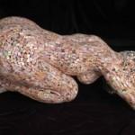 Trempeley metal sculpture by Scottish artist David Mach