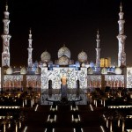 Sheikh Zayed Grand Mosque Glowing miracle