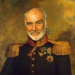"Gallery by British artist Steve Payne ""Hollywood Celebrities as Russian Generals"""