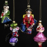 Beautiful Christmas decorations on The Nutcracker