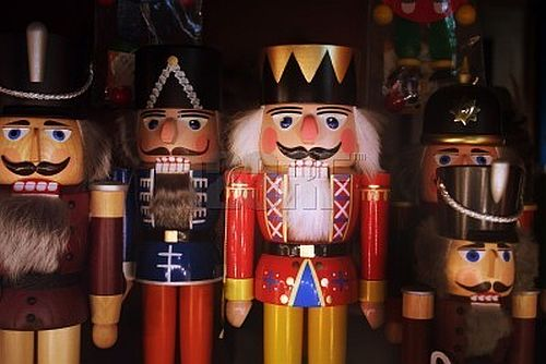 Wooden toys The Nutcracker