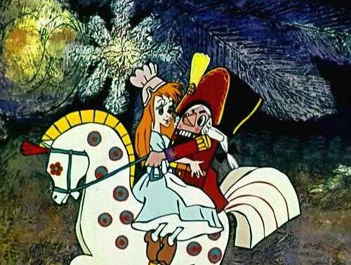 """Soviet cartoon film """"The Nutcracker"""""""