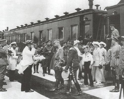 Russian Emperors train