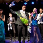 Happy winner of Mister Russia 2013 Vladimir Trezubov