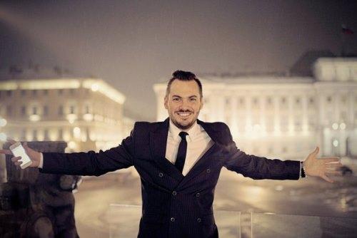 St. Petersburg based dentist and the most handsome man, Vladimir Trezubov