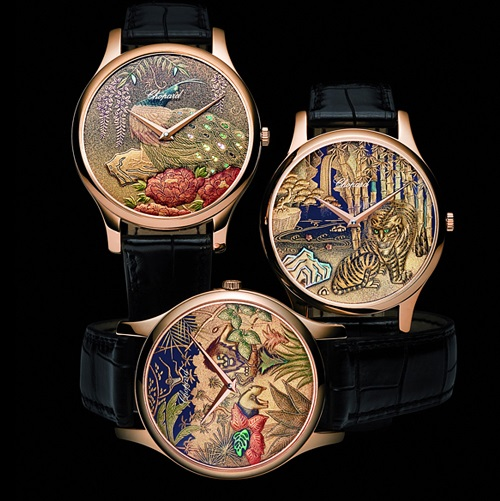 Chopard Luxury Watches. XP Urushi collection of Luxury Watches, created by Japanese artist Kiichiro Masumura