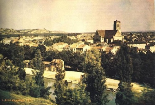 World's oldest photographs - a view of Angouleme in south France