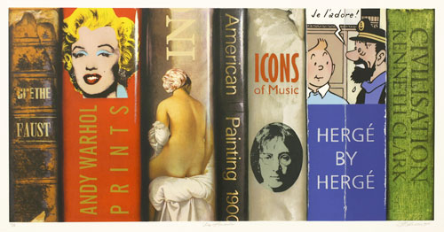 Summer Reading Paintings by Paul Beliveau