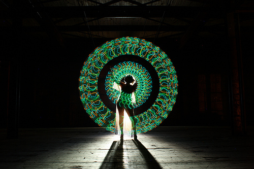 Creative Light paintings by American amateur photographer Wes Whaley