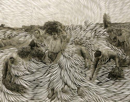 Beautiful paper art by Scottish artist Georgia Russell