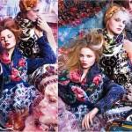 Traditional folk motifs in fashion design