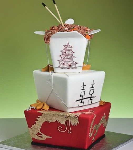 Creative Wedding Cakes