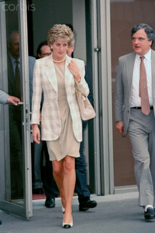 15 Jun 1995, Moscow, Russia - Lady Diana, Princess of Wales, on visit in Moscow