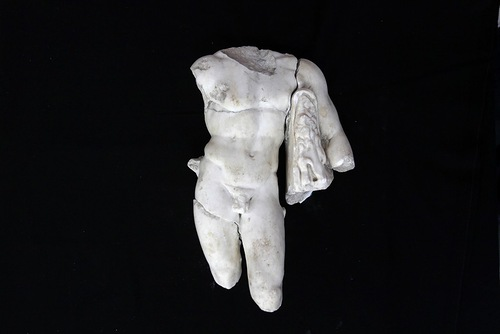 Archaeological Discoveries of 2011. 2 AD Statue of Greek Mythical Hero Hercules Discovered in Israel