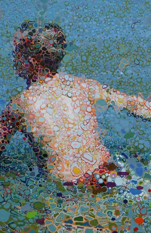 Surreal paintings by Matthew Davis. Oil painting by British artist Matthew Davis